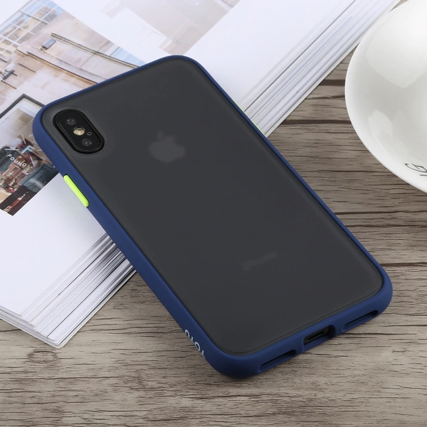 iPhone 8 Plus   Frosted Matte Finish Case with SuperSmooth Grip™ Technology.Blue + Green