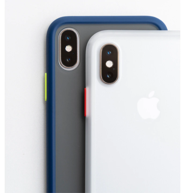 iPhone XS  Frosted Matte Finish Case with SuperSmooth Grip™ Technology.