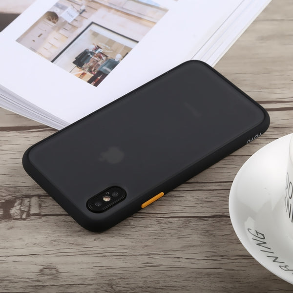 iPhone X  Frosted Matte Finish Case with SuperSmooth Grip™ Technology.Yellow + Black