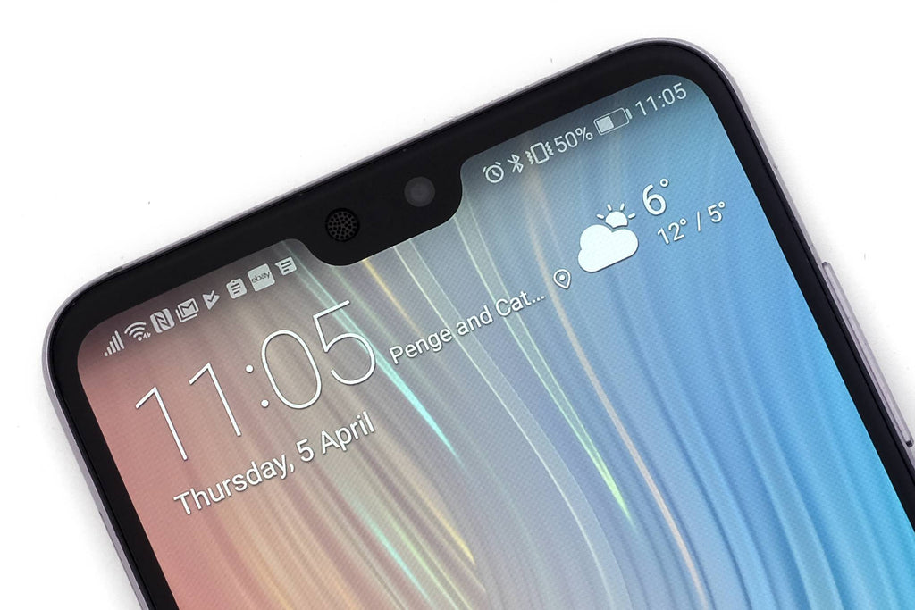 HUAWEI Y9 2019- - Zero Eye Strain™ 3D Micro-Louver/ Tempered Glass. ALCS Screen.ZES Screen Protectors