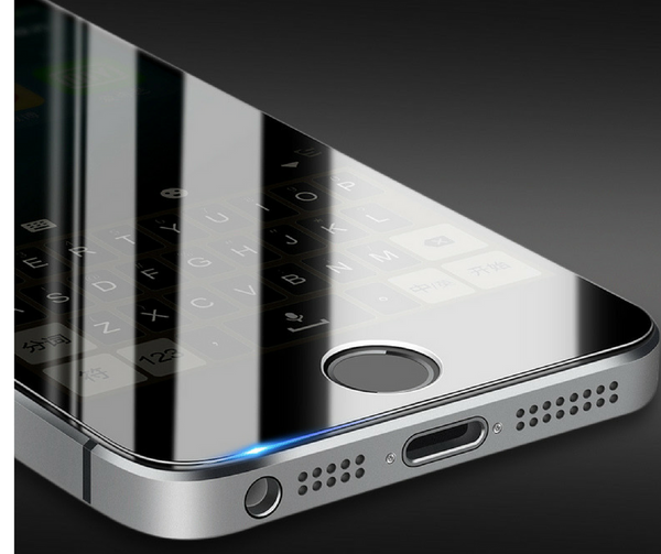 iPhone 5/SE - Zero Eye Strain™ 3D Micro-Louver/ Tempered Glass. ALCS Screen.ZES Screen Protectors