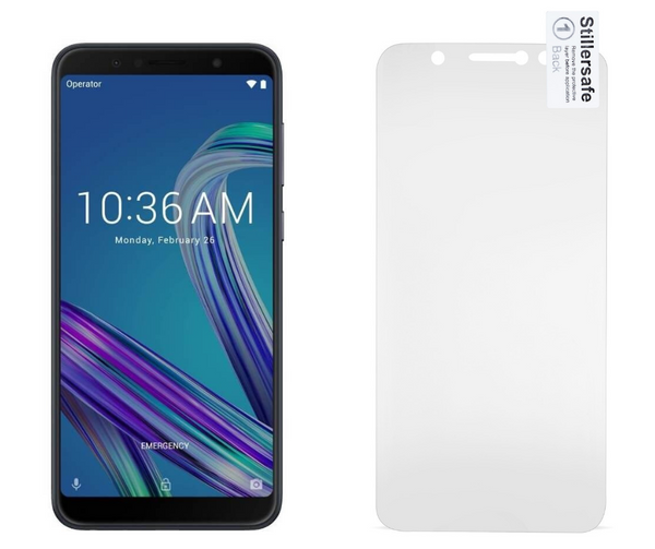 Asus Zenfone Max Pro M1   - Fully Covered - Zero Eye Strain™ Micro-Louver Screen Protector/Tempered GlassZES Screen Protectors
