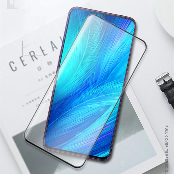 Huawei Y9 Prime 2019 - 5D Tempered Glass/Screen is Premium (with light privacy) 2019 July Versionr 3D Screen Protector with Privacy (Premium Product)ZES Screen Protectors