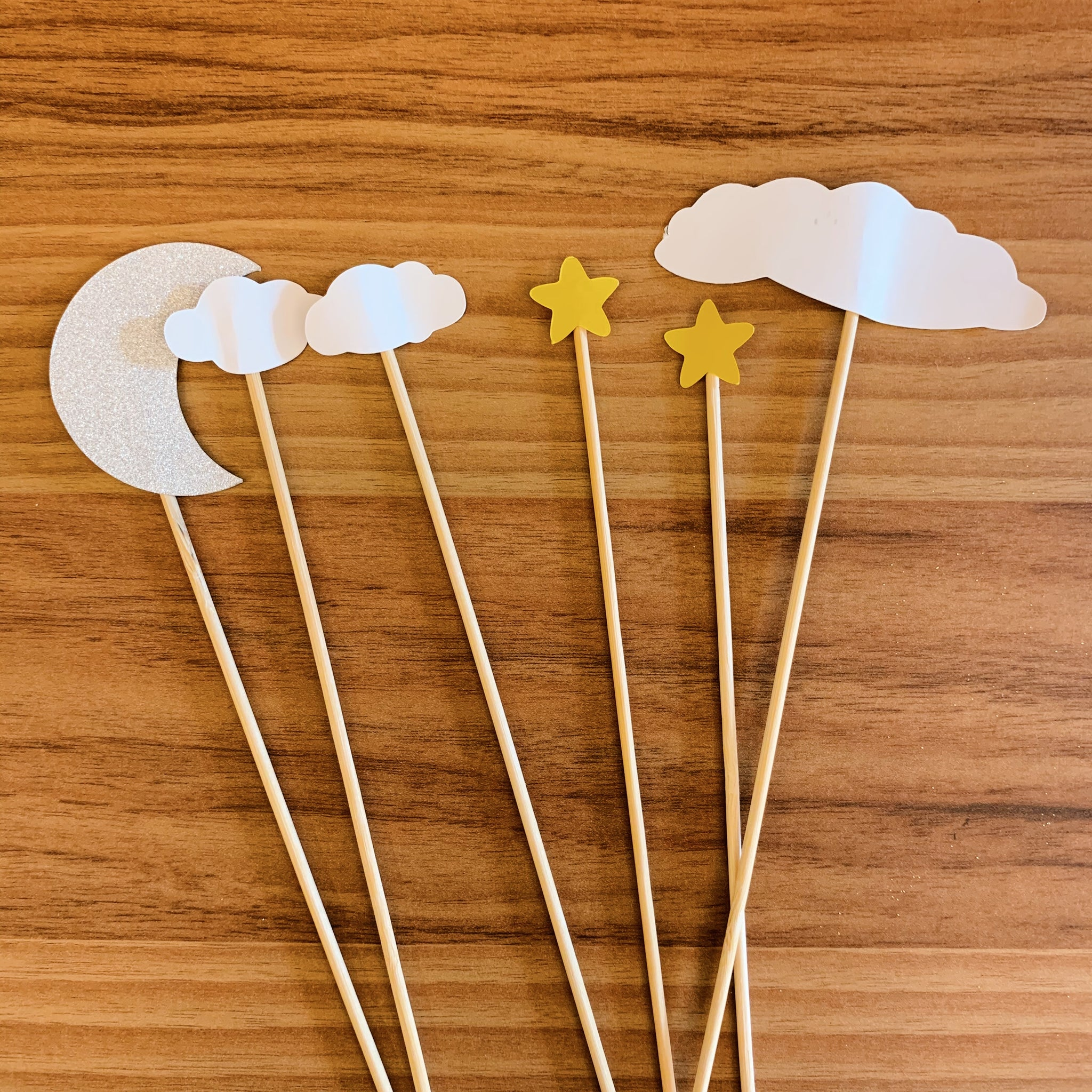 Sky Theme Cutout Paper Topper