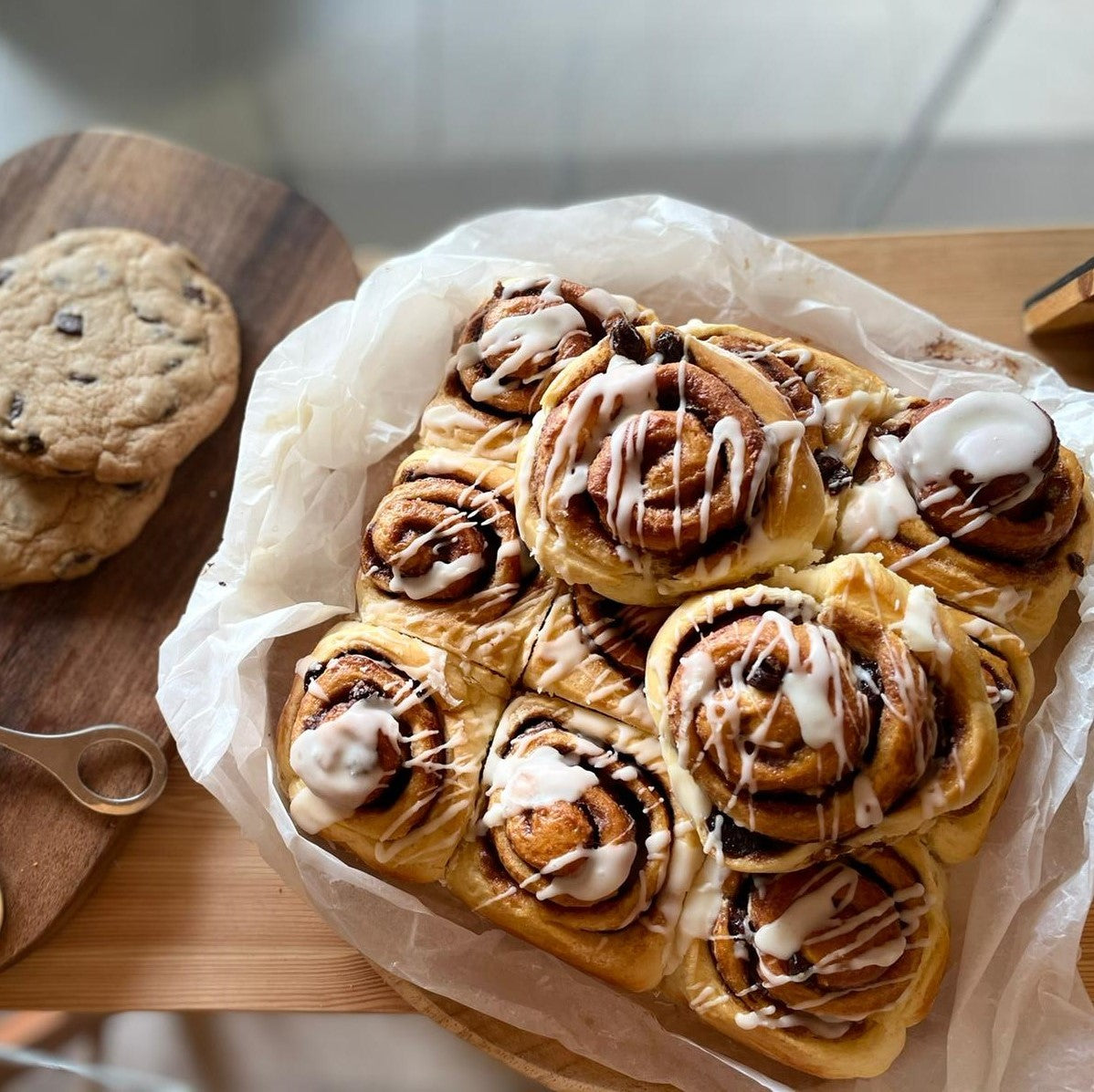 Cinnamon Rolls- set of 6