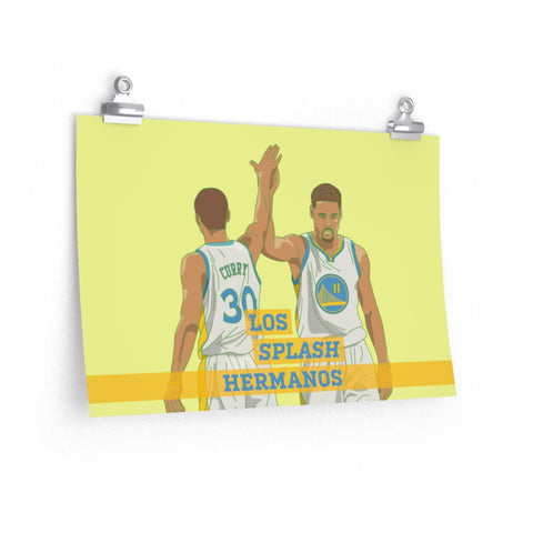 Originals Los Splash Hermanos Art Print