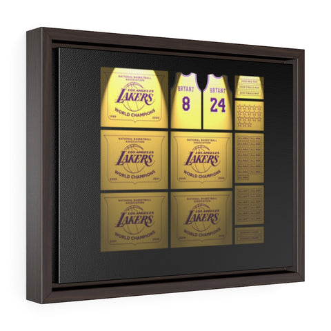 Originals Mamba Banners Framed Gallery Wrap Canvas