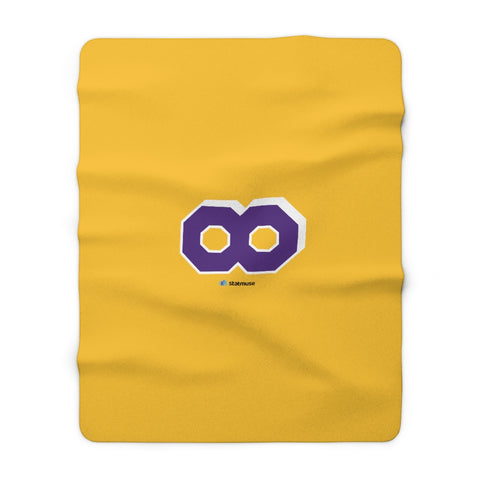 Seasonals Mamba to Infinity Sherpa Fleece Blanket