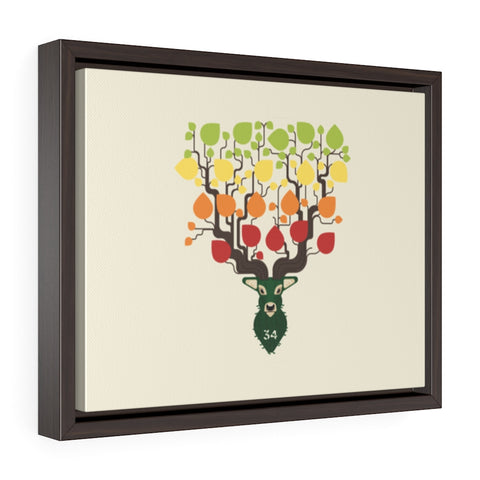 Originals Greek Freak Bloom Framed Gallery Wrap Canvas