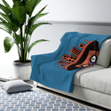 Seasonals Kanedama-Cyborg Sherpa Fleece Blanket