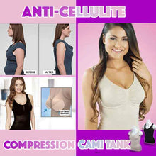 Load image into Gallery viewer, Anti-Cellulite Compression Cami Tank Top SALE - 75% OFF