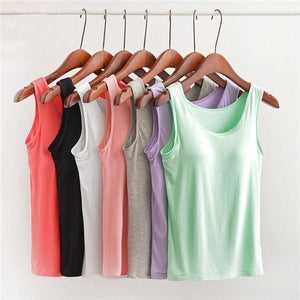 Bra Sleeveless Top - 70%OFF