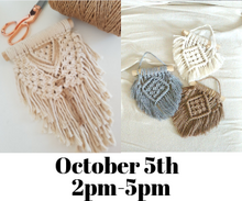 Load image into Gallery viewer, MACRAMÉ Boho Wall Hanging