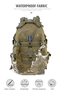 Mochila Militar 40L - Camping & Bug-out Bag