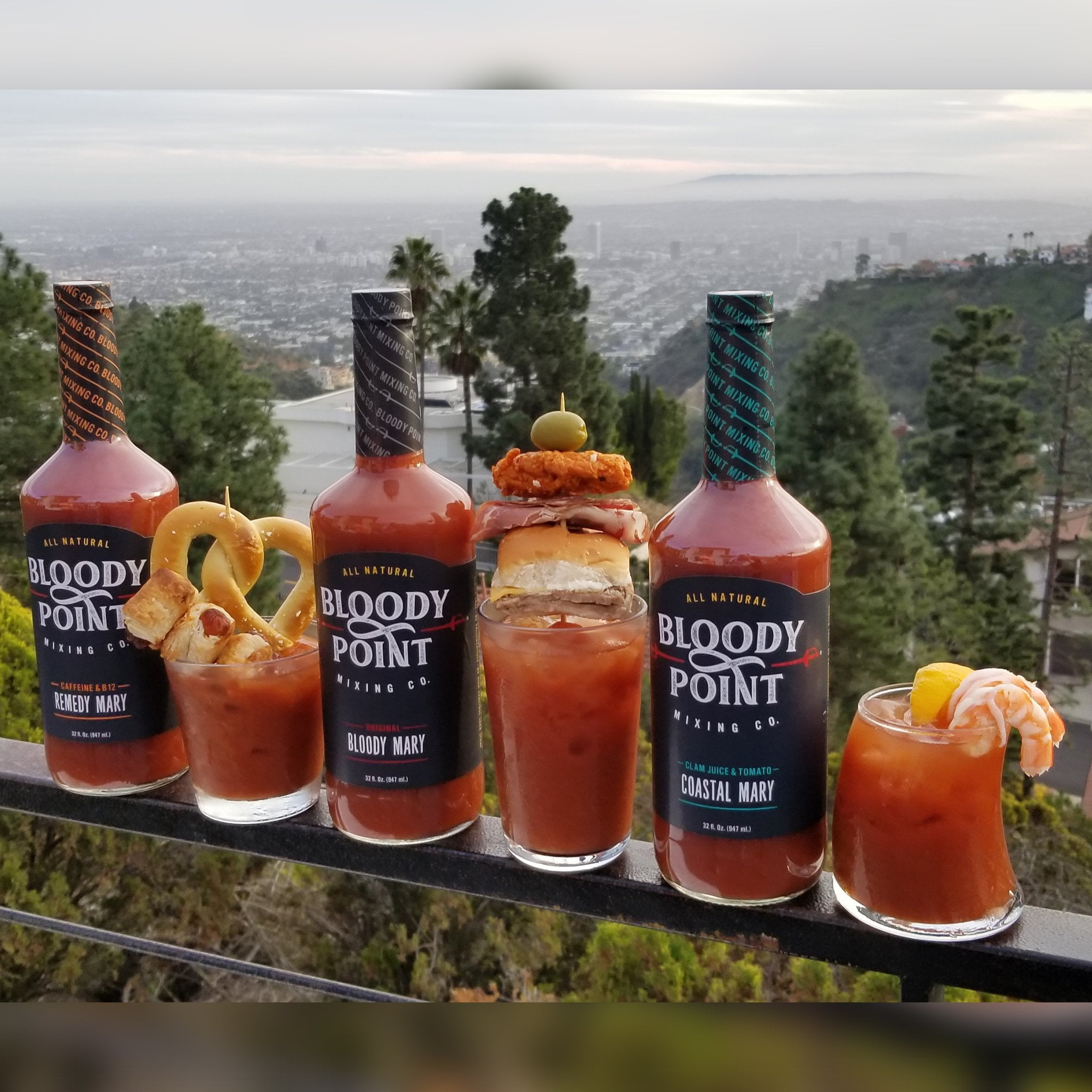 Bloody Point Variety Pack With Mixes