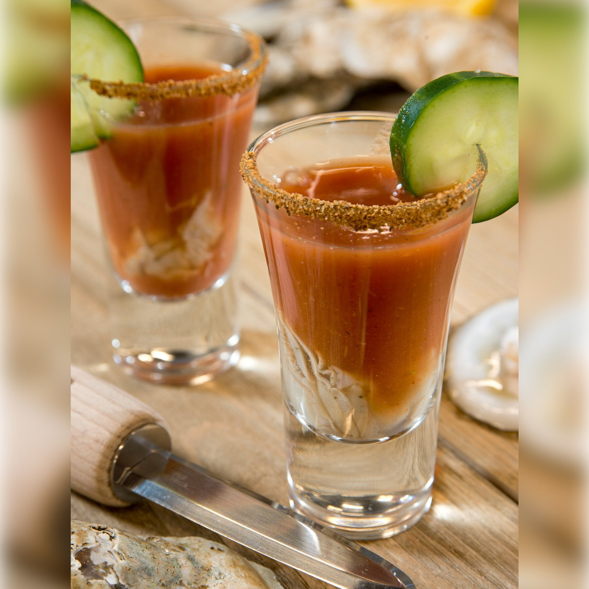 The Coastal Mary Oyster Shooters