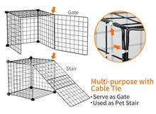 Load image into Gallery viewer, Iron Flodable Pet Cage for Home and Travelling - YourSmartPets