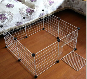 Iron Flodable Pet Cage for Home and Travelling - YourSmartPets