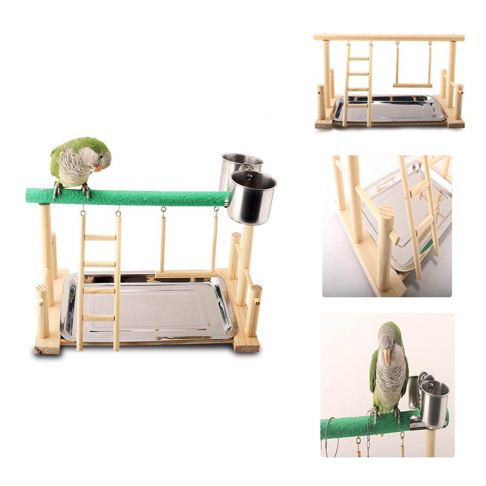 Birds and Parrots Playstand multi feature Toy Set - YourSmartPets