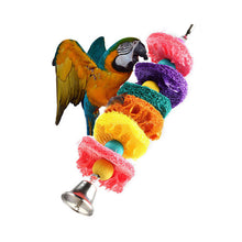 Load image into Gallery viewer, Birds Cage Hammock Swing Hanging Toy - YourSmartPets