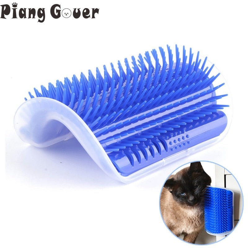 Self Massager Cat Grooming Scratcher - YourSmartPets