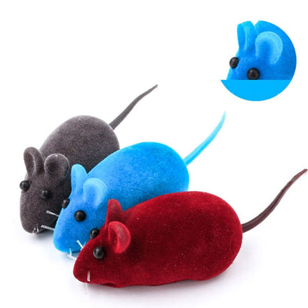 Rabbit Fur False Mouse Pet for Cats and Kittens - YourSmartPets