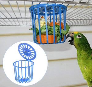 Parrot Feeder Hanging Basket for Cage - YourSmartPets