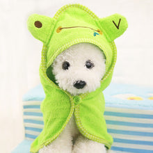 Load image into Gallery viewer, Pet Hoodies Towel Soft and Super Absorbent - YourSmartPets