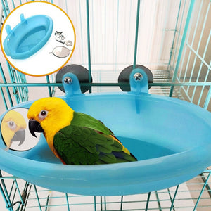 Bathtub for Parrot with Mirror - YourSmartPets