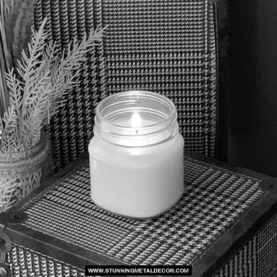 Apple Pie Fragrance Candle Home Decor 8Oz