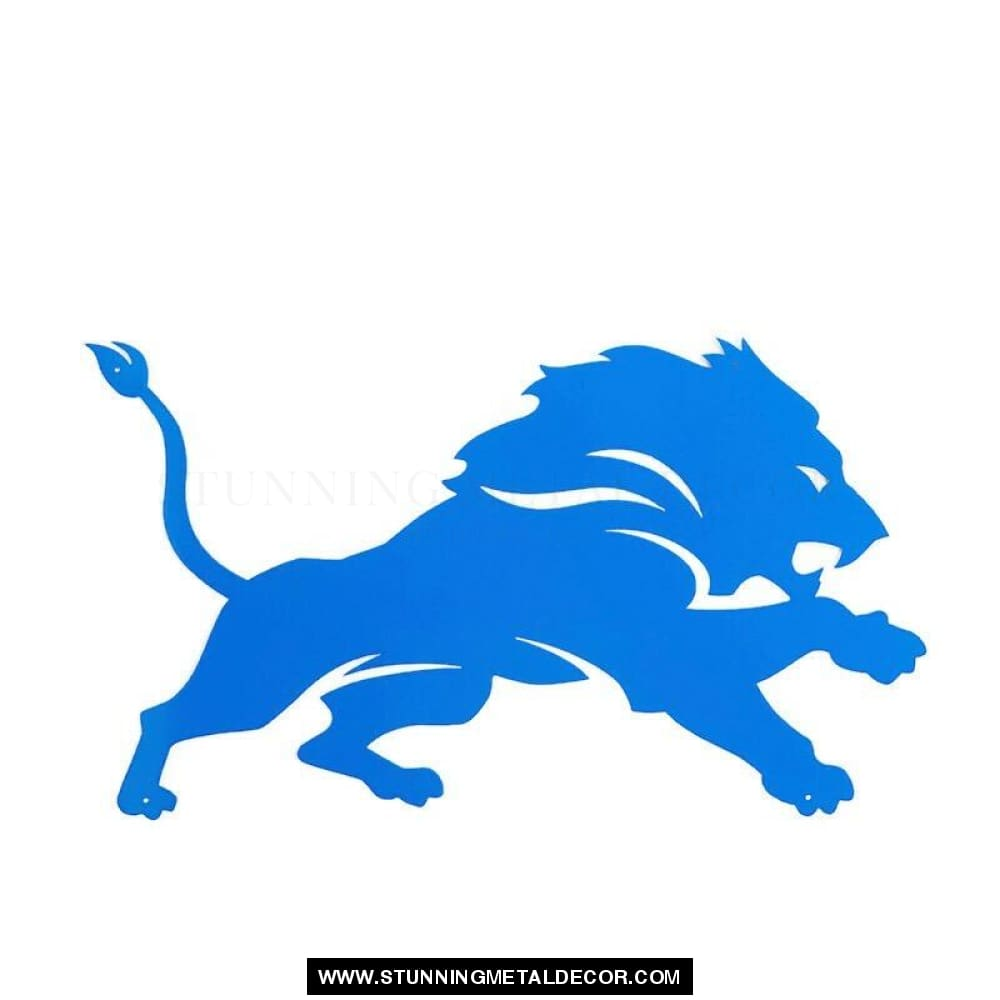 Detroit Lions Magnet 6X4 / Blue Sports