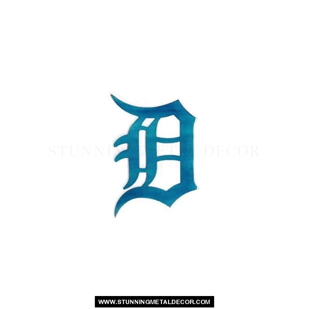 Detroit Tigers Yard Art 9X6 / Airbrush Sports
