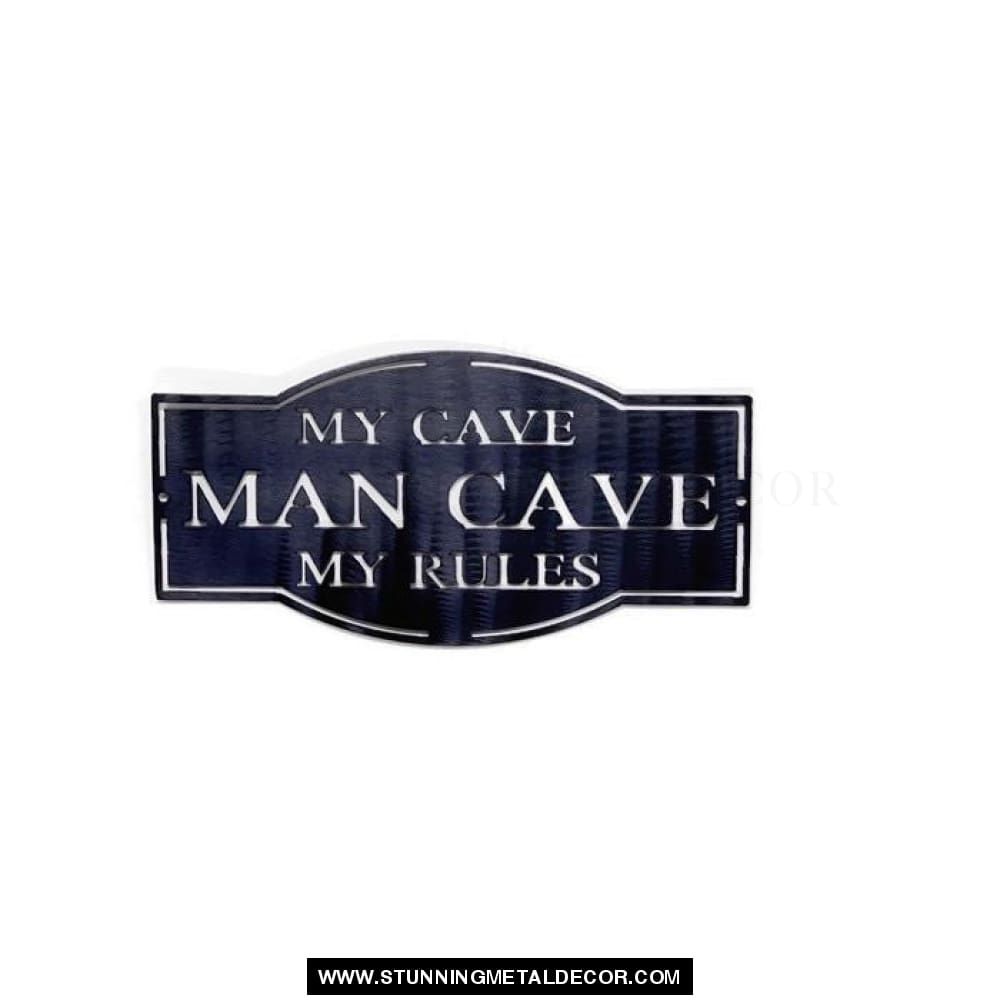 Man Cave Metal Sign Wall Art Signs