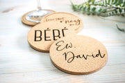 Schitt's Creek Cork Coaster - Set of 4