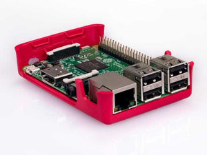 Raspberry Pi 3 Case (Red/White)