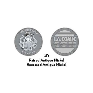 L.A. Comic Con Octopus Coin