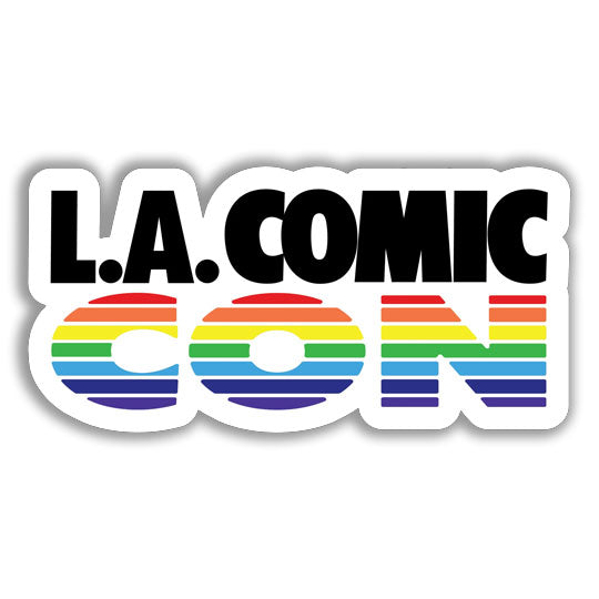 L.A. Comic Con Pride Sticker