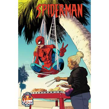 LACC EXCLUSIVE Marvel Comic's Spider-Man #1 VARIANT