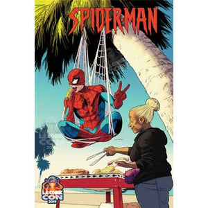 SIGNED LACC EXCLUSIVE Marvel Comic's Spider-Man #1 VARIANT