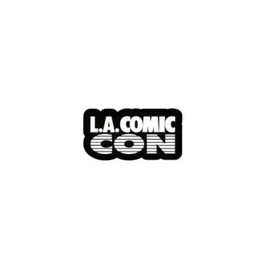 L.A. Comic Con Text Enamel Pin