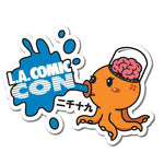 L.A. Comic Con Anime Octopus Sticker