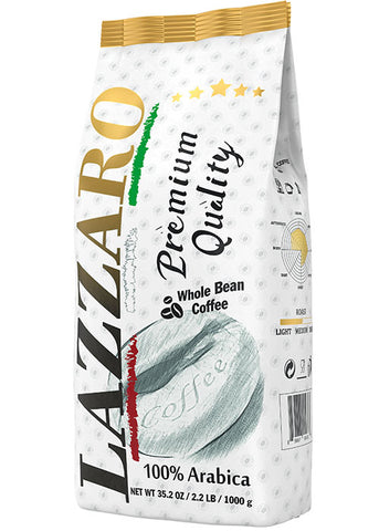 Lazzaro 100% Arabica 2.2 lb / 1 kg - Lazzaro USA