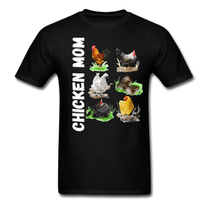 Chicken Mom - black