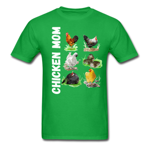 Chicken Mom - bright green