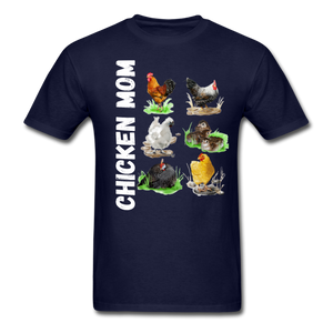 Chicken Mom - navy