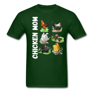 Chicken Mom - forest green
