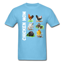 Load image into Gallery viewer, Chicken Mom - aquatic blue