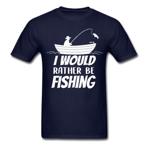 I would rather be fishing - navy