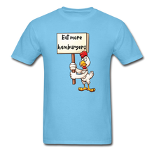 Load image into Gallery viewer, Chicken on strike - aquatic blue