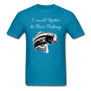 I would rather be Bass fishing - turquoise